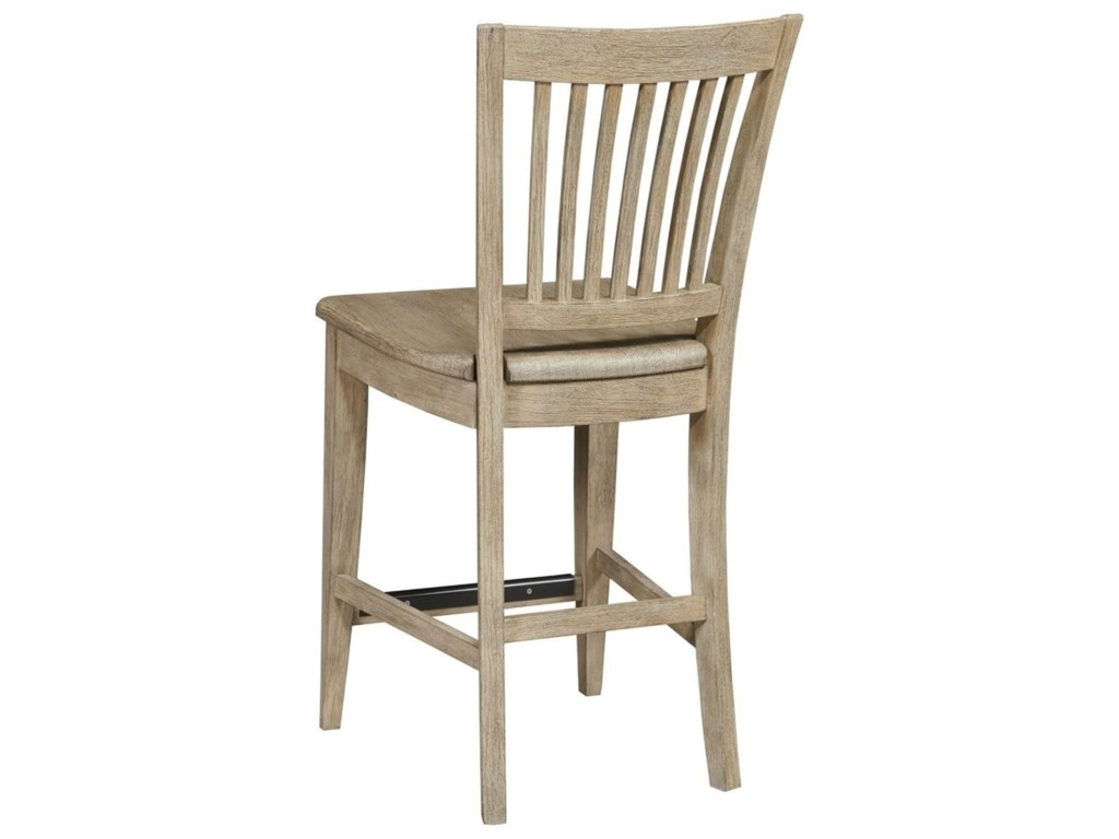 Kincaid Furniture The NookCounter Height Slat Back Chair