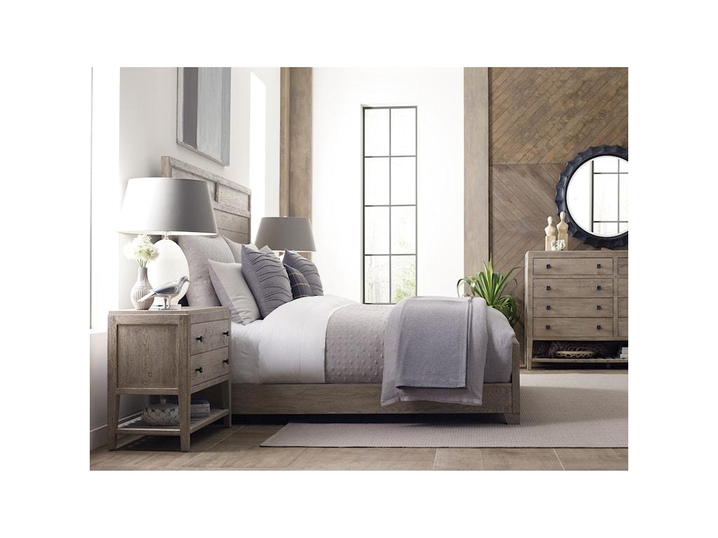Kincaid Furniture TrailsLinville Dresser and Mirror Set