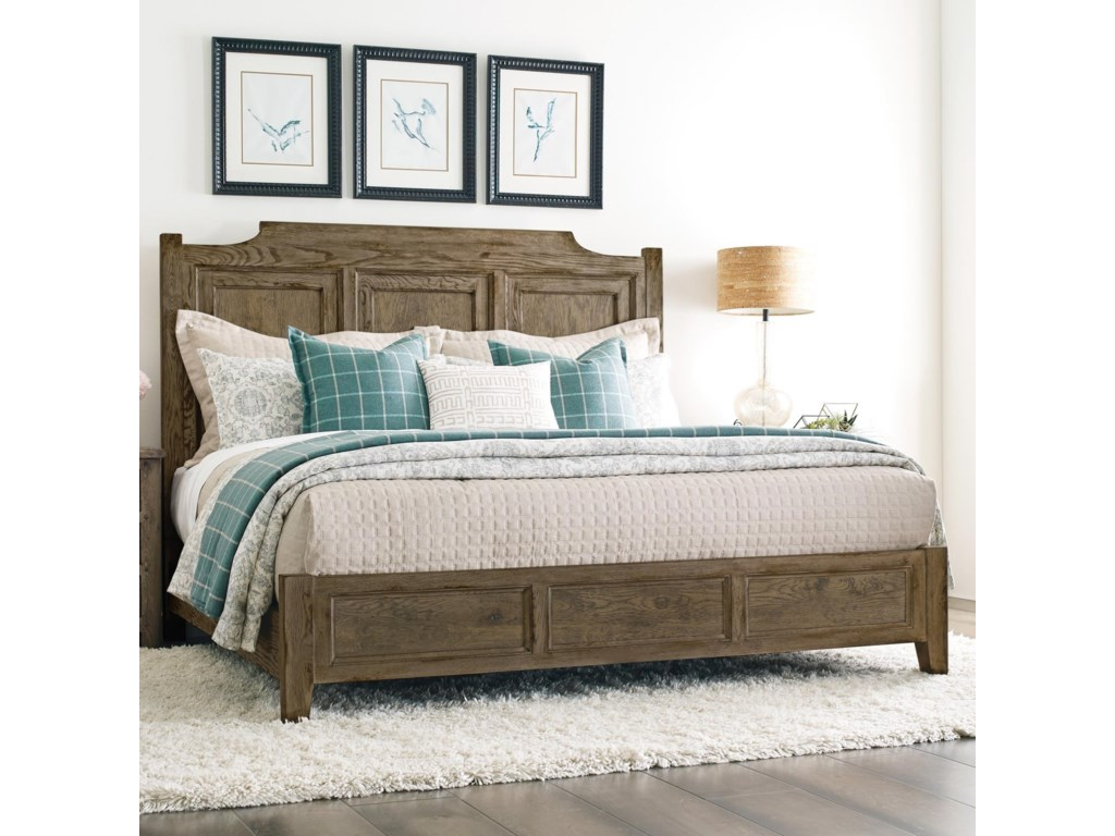 Kincaid Furniture Trails Portland Queen Panel Bed Wayside Furniture Panel Beds