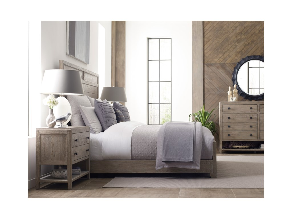 Kincaid Furniture TrailsRoan Queen Panel Bed