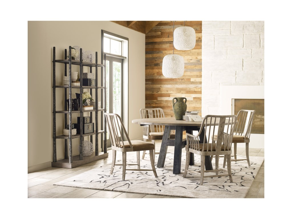 Kincaid Furniture Trails5 Piece Chair & Table Set