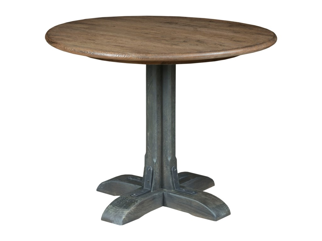 Kincaid Furniture TrailsFranklin Round Dining Table