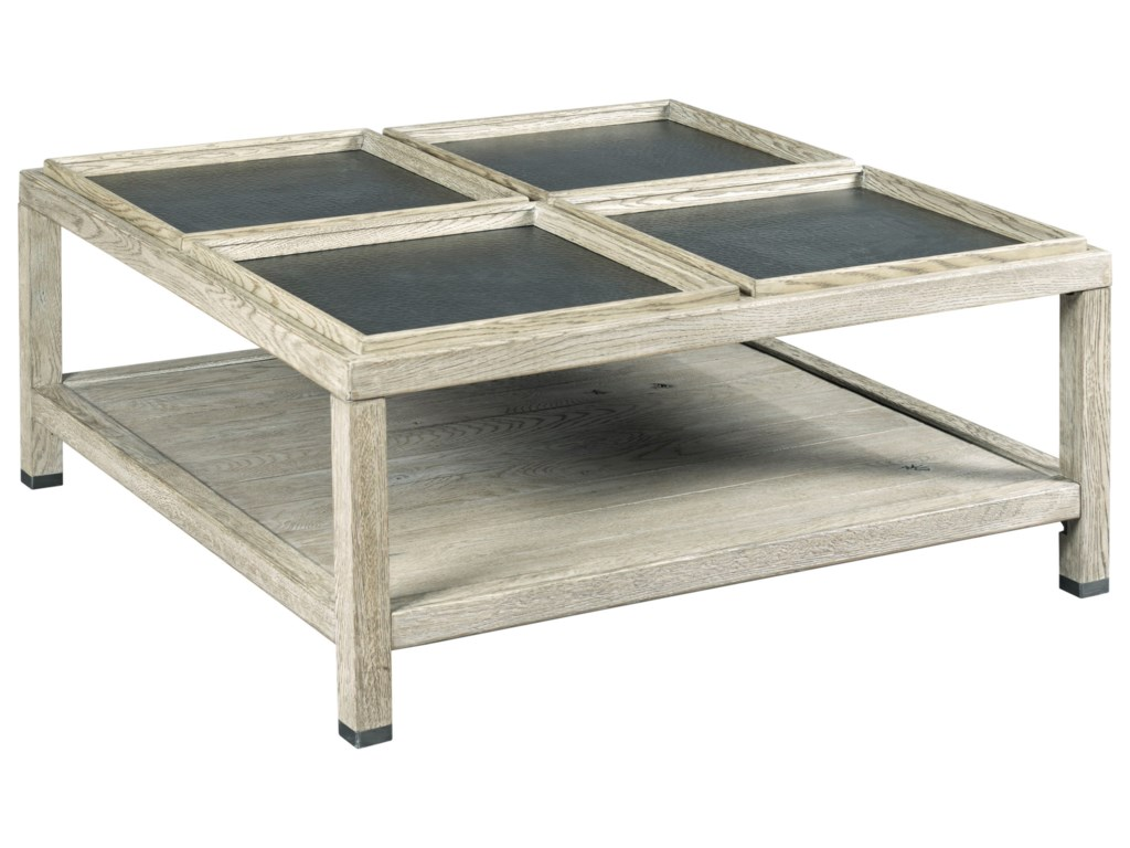 Kincaid Furniture TrailsElements Square Coffee Table