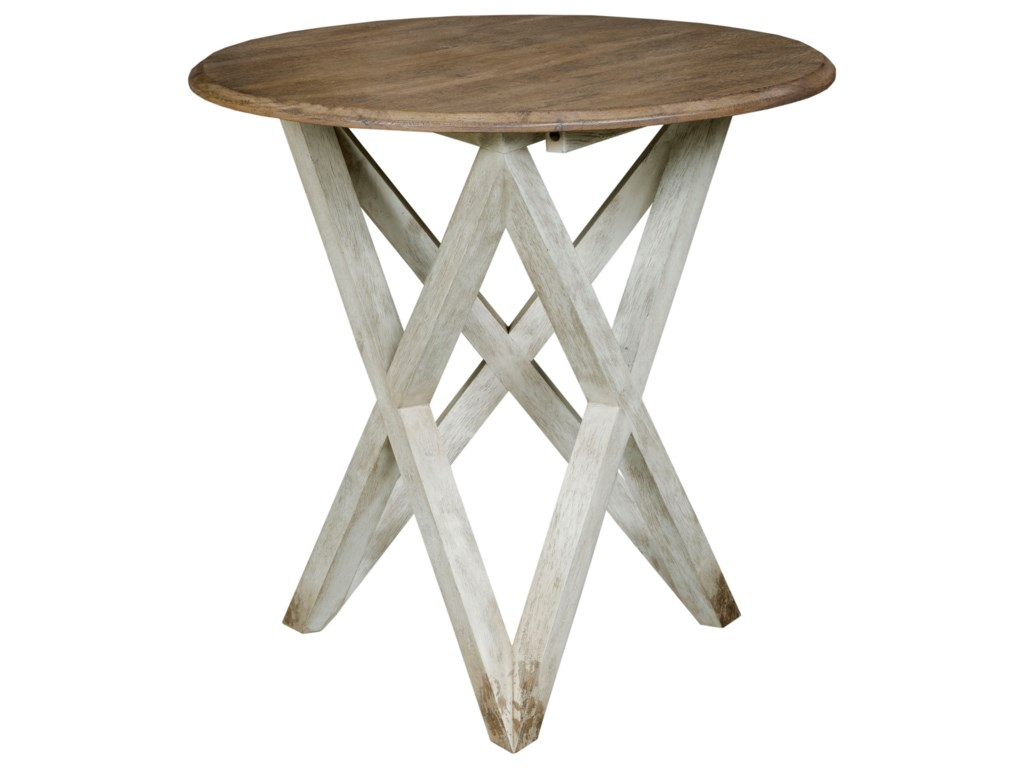 Kincaid Furniture TrailsColton Round Lamp Table