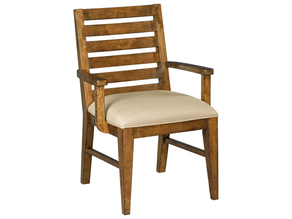 Kincaid Furniture TraverseLadderback Arm Chair