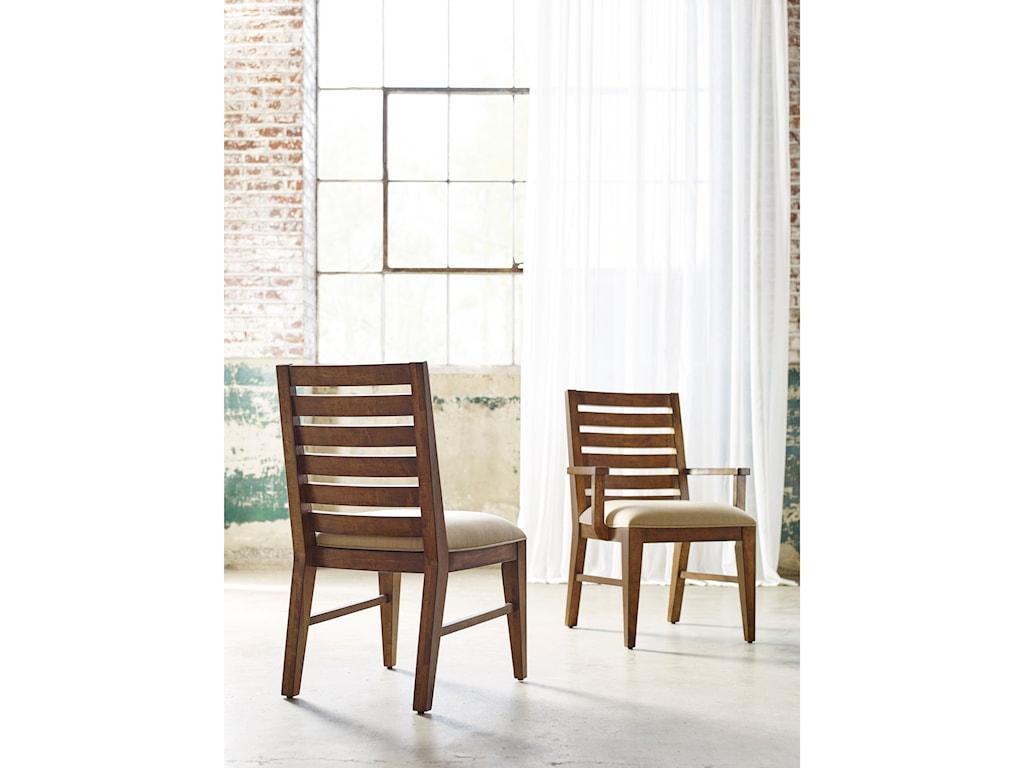 Kincaid Furniture TraverseLadderback Arm Chair