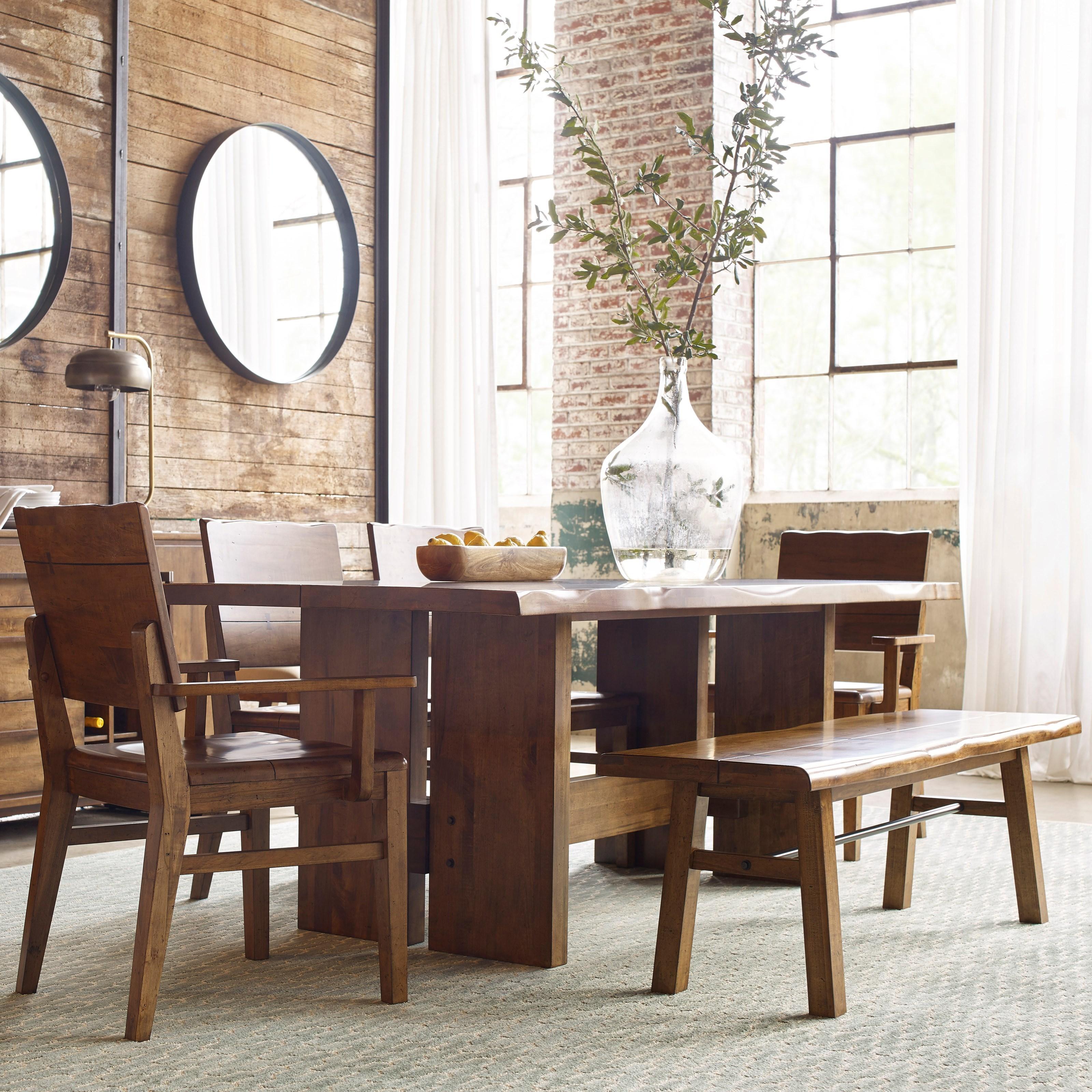Wonderful Kincaid Furniture Traverse6 Pc Dining Set ...