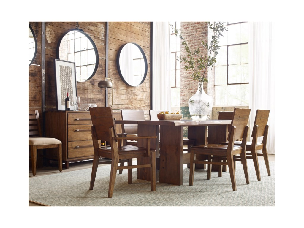 Kincaid Furniture Traverse7 Pc Dining Set