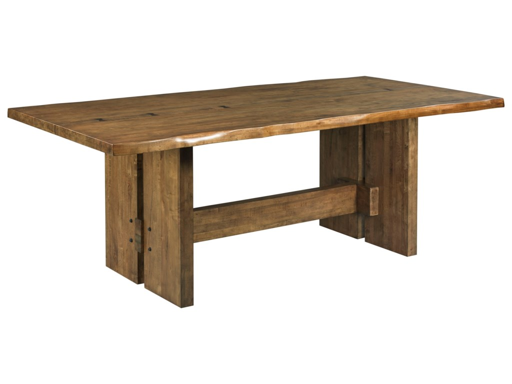 Kincaid Furniture TraverseCutler Live Edge Dining Table