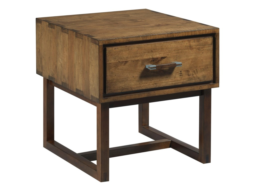 Kincaid Furniture TraverseWoodworker Drawer End Table