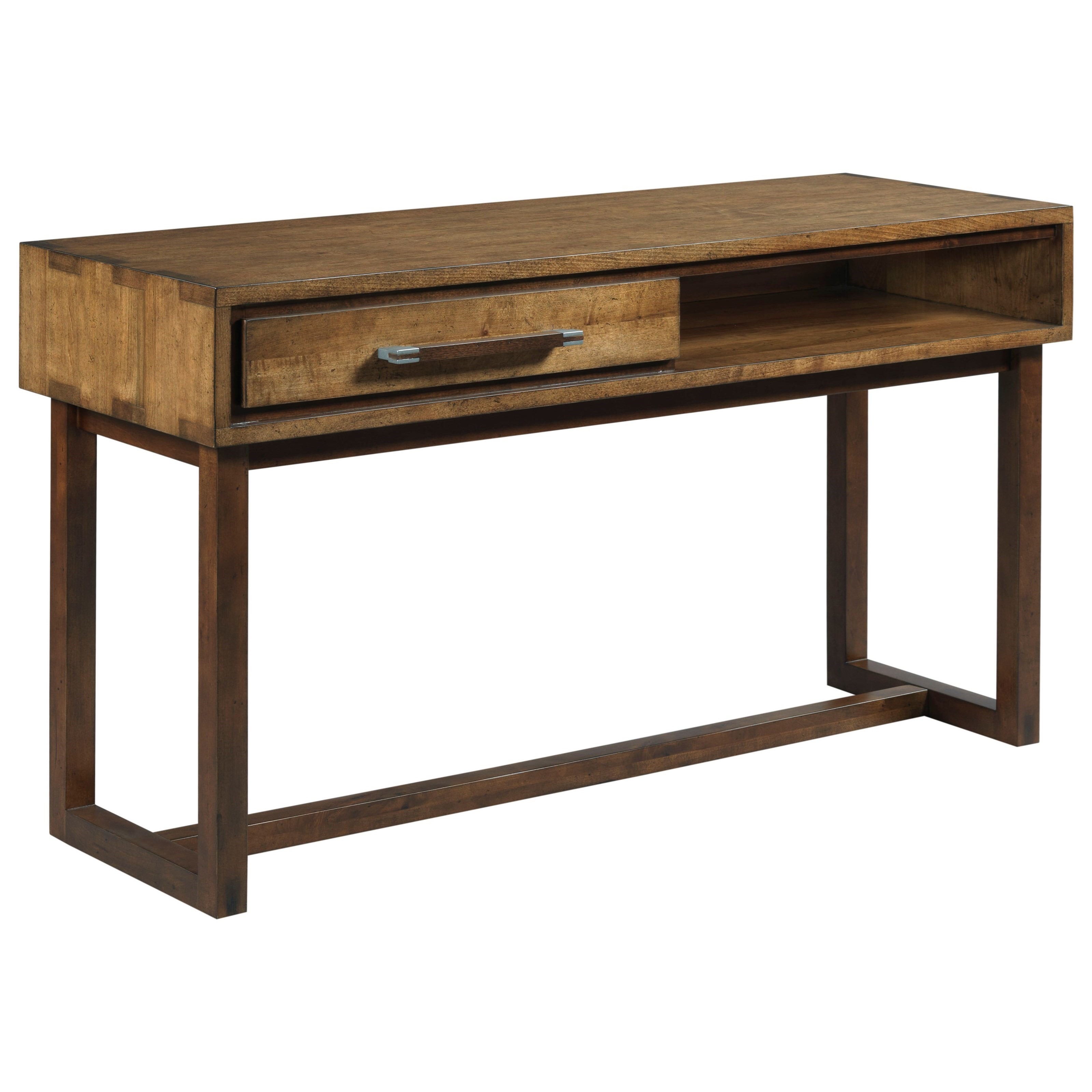 Kincaid Furniture Traverse Boatwright Modern Craftsman Sofa Table