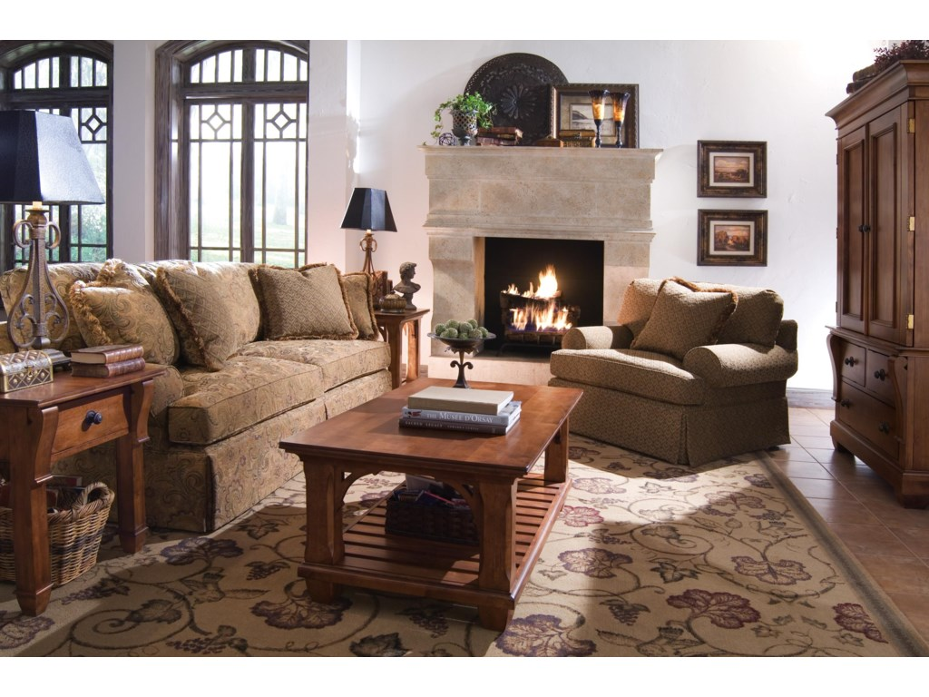 Shown with Coordinating Skirted Sofa