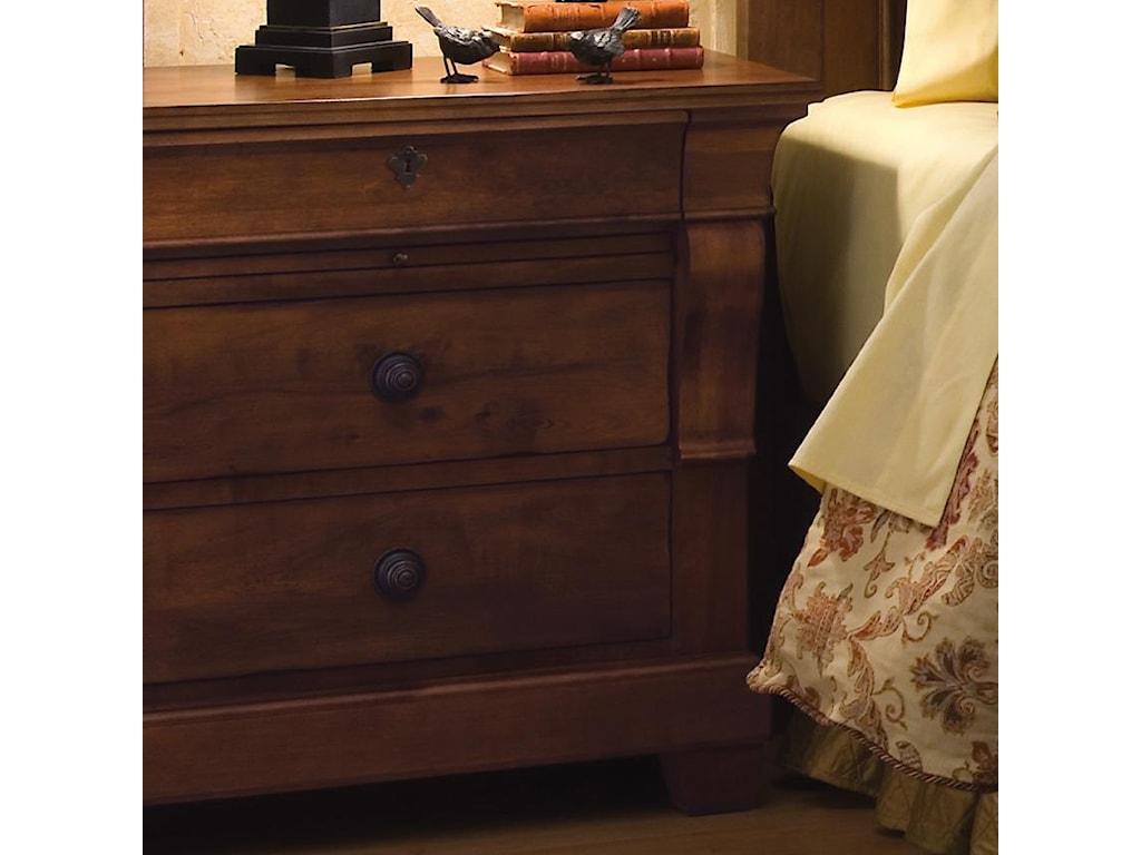 Kincaid Furniture Tuscano Bedside Chest Belfort Furniture Night - Kincaid tuscano bedroom furniture