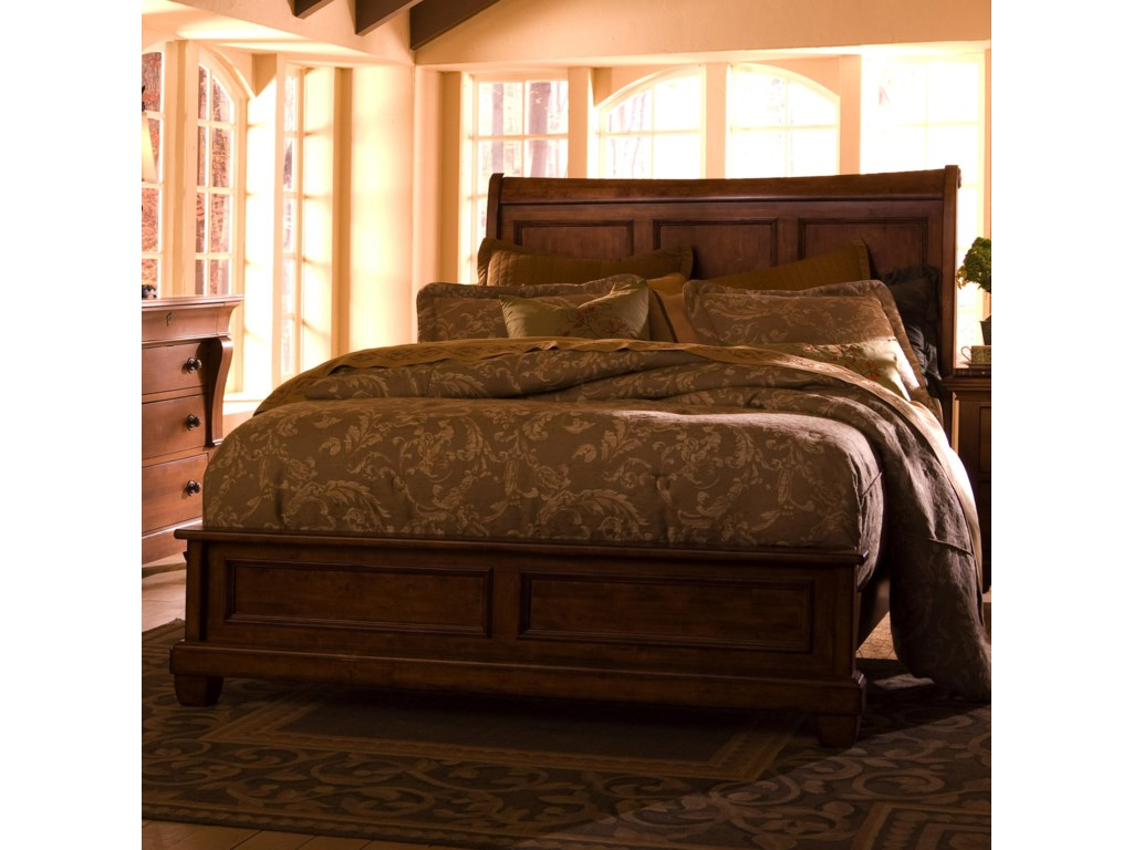 Kincaid Furniture Tuscanocalifornia King Low Profile Bed