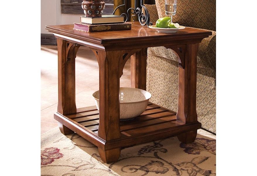 Kincaid Furniture Tuscano 96 021v Square Lamp Table Hudson S