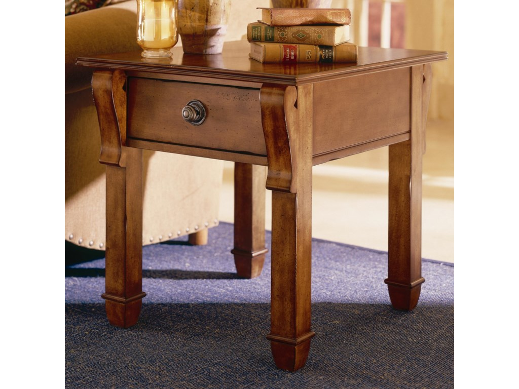 Kincaid Furniture TuscanoDrawer End Table