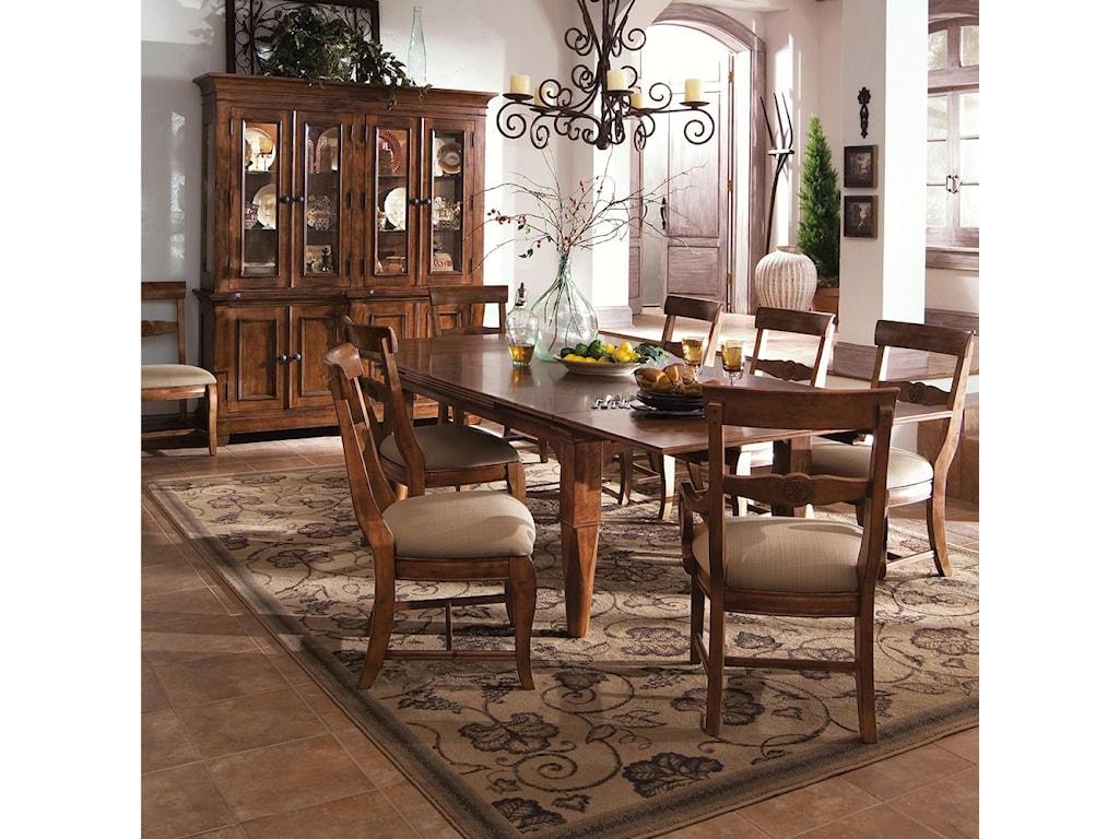 Kincaid Furniture Tuscano 9 Pc
