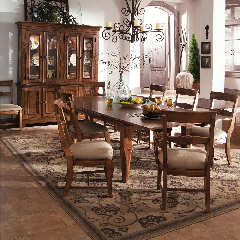 Kincaid Furniture Tuscano9 Pc. Refectory Leg Table U0026 Chair Set