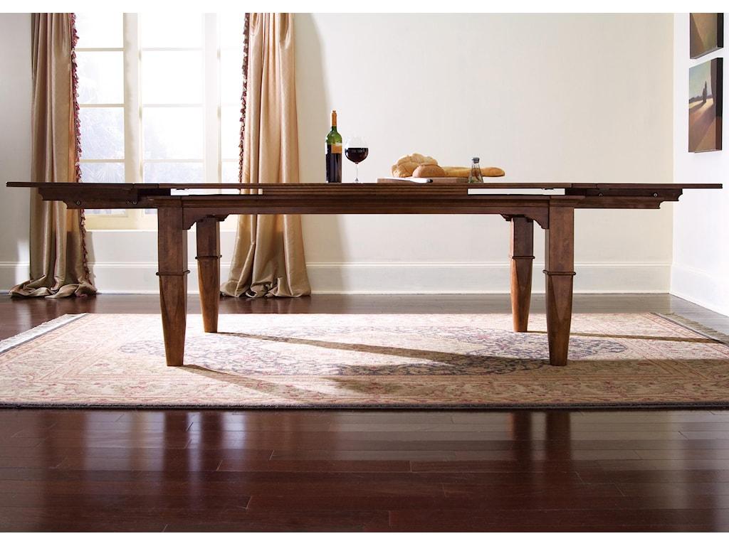 Kincaid Furniture TuscanoRefectory Leg Table