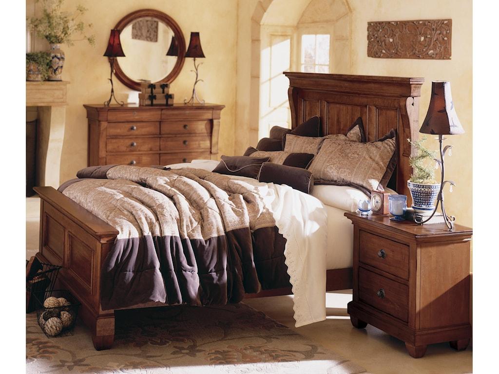 Kincaid Furniture TuscanoCalifornia King Panel Bed