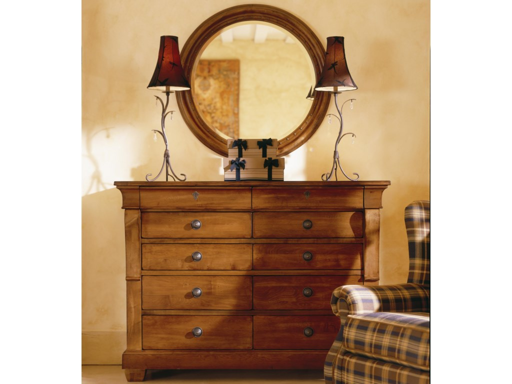 Kincaid Furniture TuscanoDrawer Dresser & Mirror