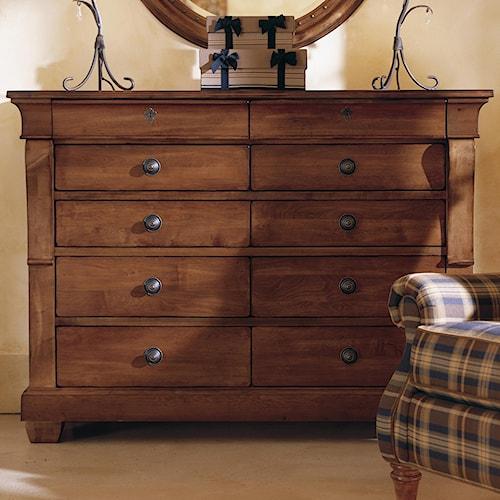 Kincaid Furniture Tuscano Drawer Dresser Solid Wood Top Lindy S