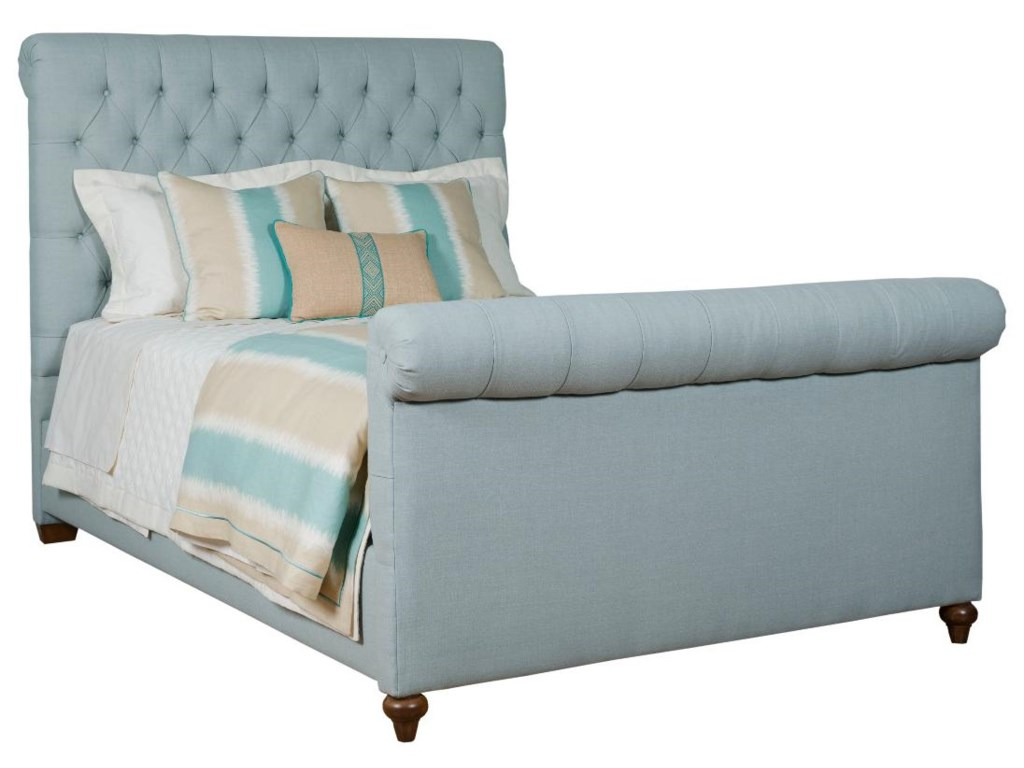 Kincaid Furniture Upholstered BedsQueen Belmar Upholstered Bed