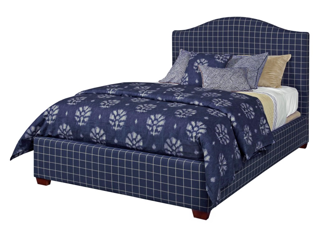 Shown with Upholstered Side Rails and Footboard