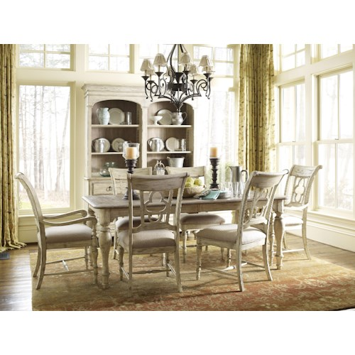 Kincaid Furniture Weatherford Formal Dining Room Group 1