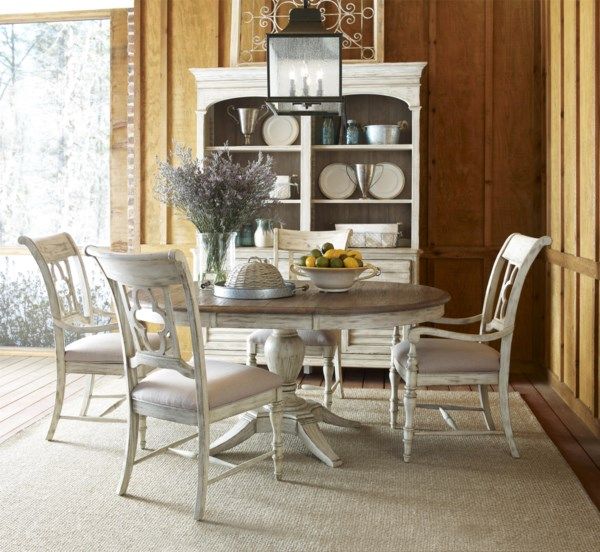 Classic-Shabby-Chic-Dining-Room1 Formal Dining Room Table Sets