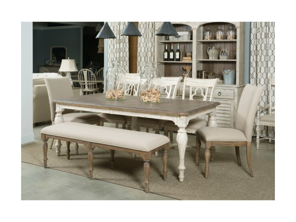 Kincaid Furniture WeatherfordCasual Dining Room Group