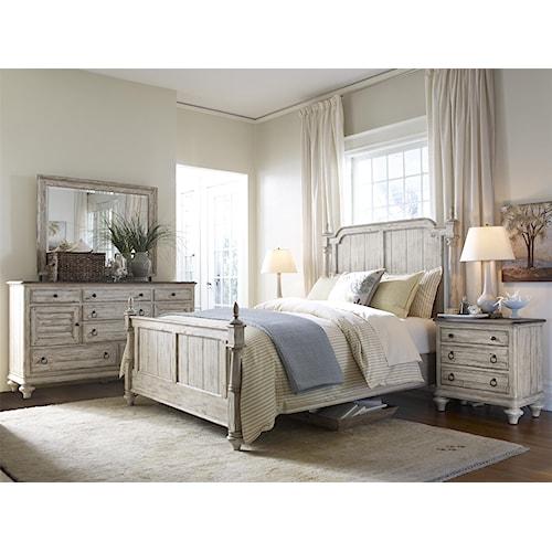 Kincaid Furniture Weatherford King Bedroom Group 1