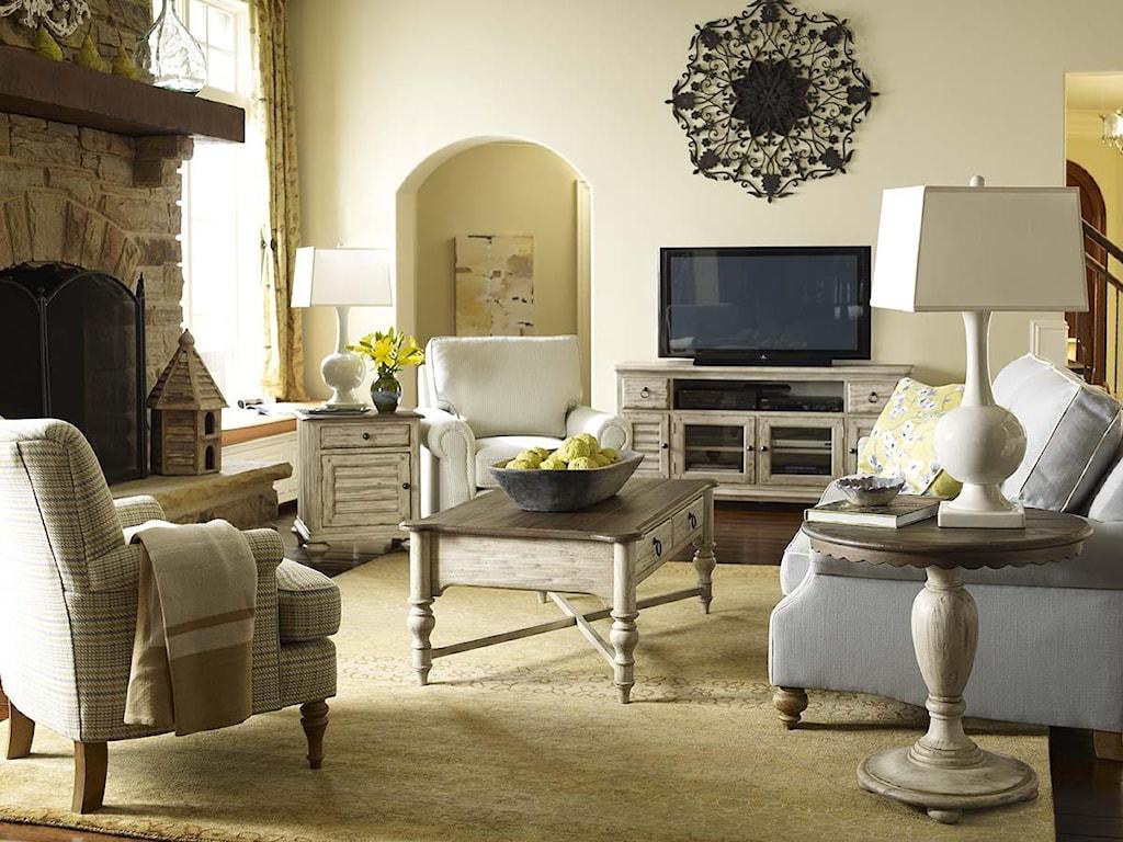 Kincaid Furniture WeatherfordCocktail Table