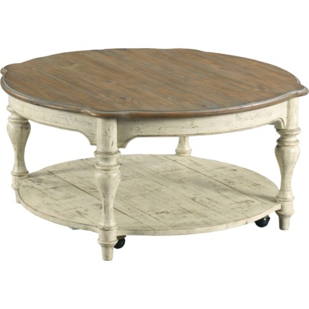 Bolton Round Cocktail Table