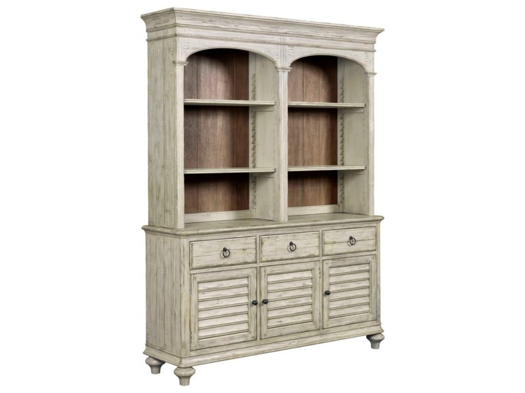 Kincaid Furniture WeatherfordHastings Open Hutch and Buffet