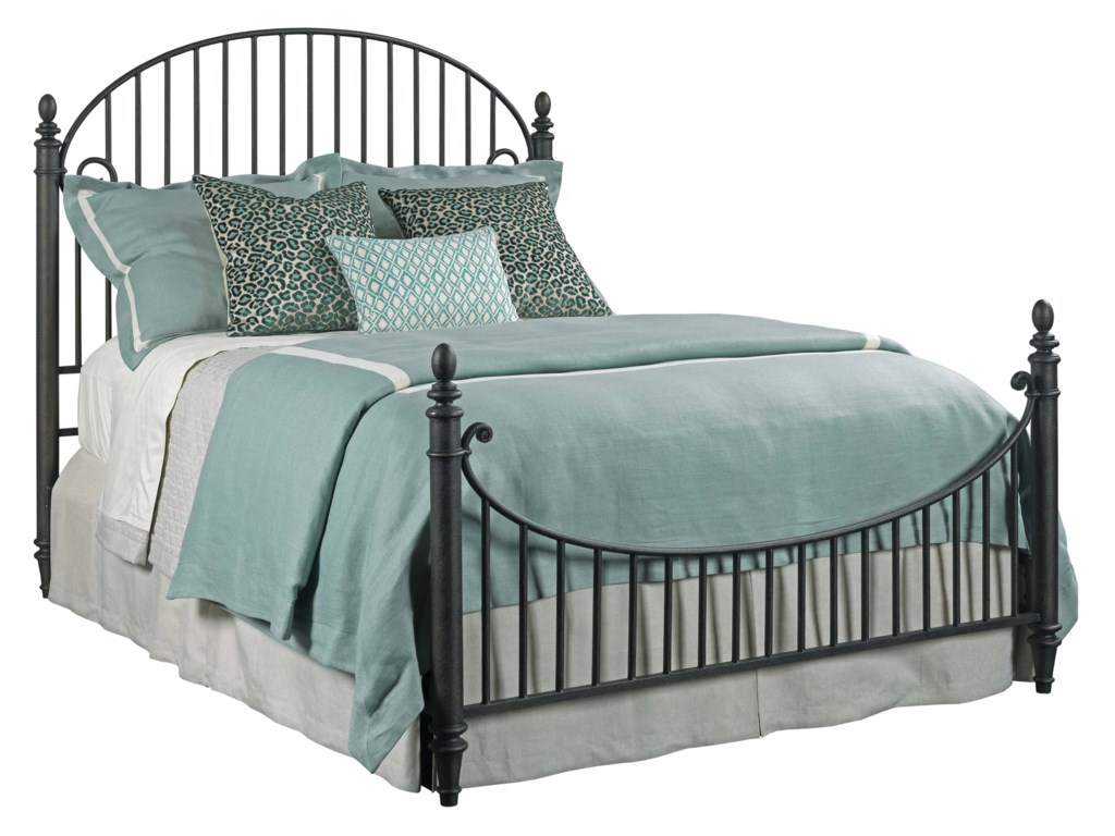 Kincaid Furniture WeatherfordCatlins Metal Queen Bed Package