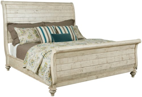 Kincaid Furniture Weatherford Lynton Sleigh Bed King Size