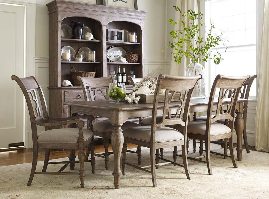 7 piece dining set with leaf kitchen table kincaid furniture weatherford7 piece dining set weatherford with canterbury
