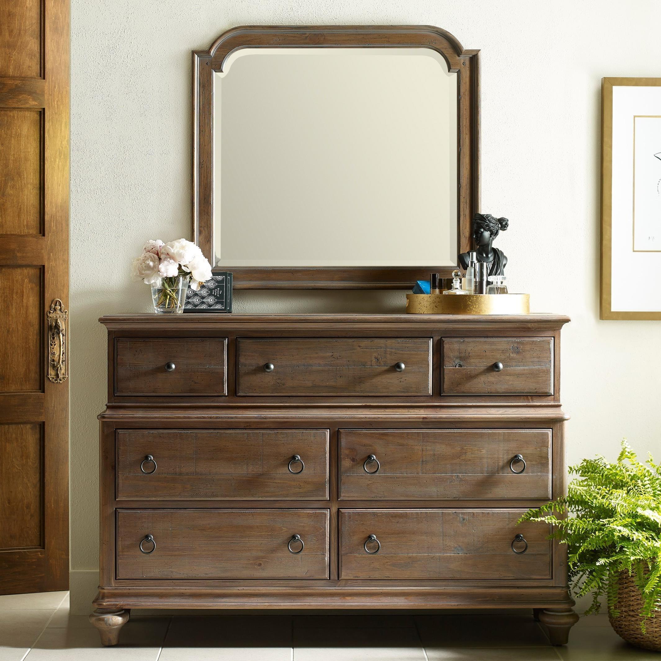 Wellington Dresser and Westland Mirror Combination