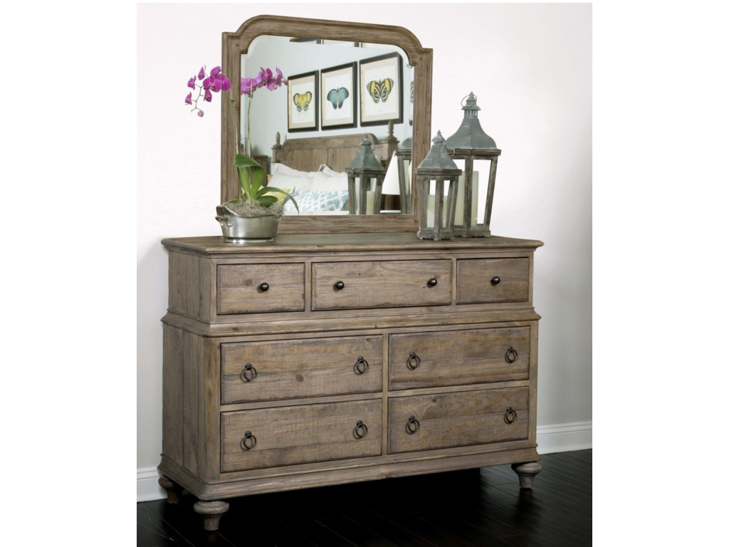 Kincaid Furniture WeatherfordWellington Drawer Dresser