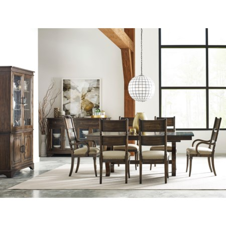 9 Pc Formal Dining Room Group