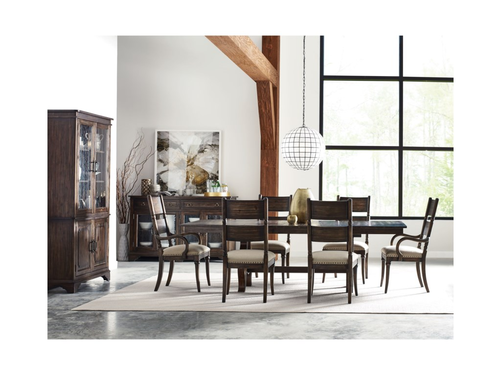 Kincaid Furniture Wildfire9 Pc Formal Dining Room Group
