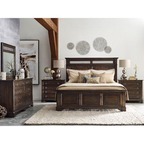 Kincaid Furniture Wildfire King Bedroom Group