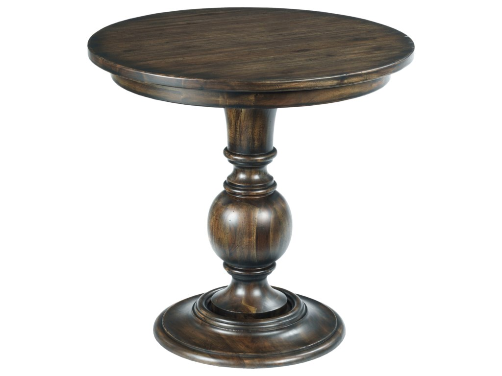 Kincaid Furniture WildfireRound Lamp Table