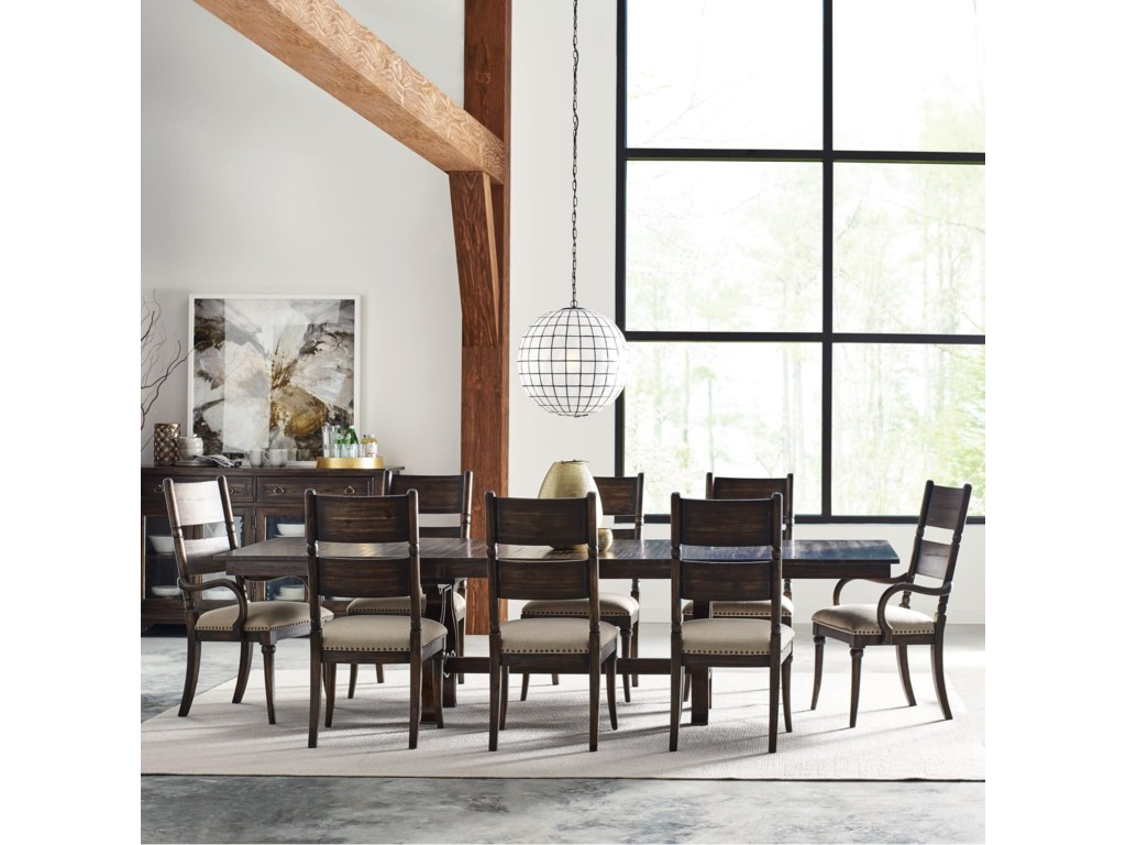 Kincaid Furniture Wildfire9 Pc Dining Set