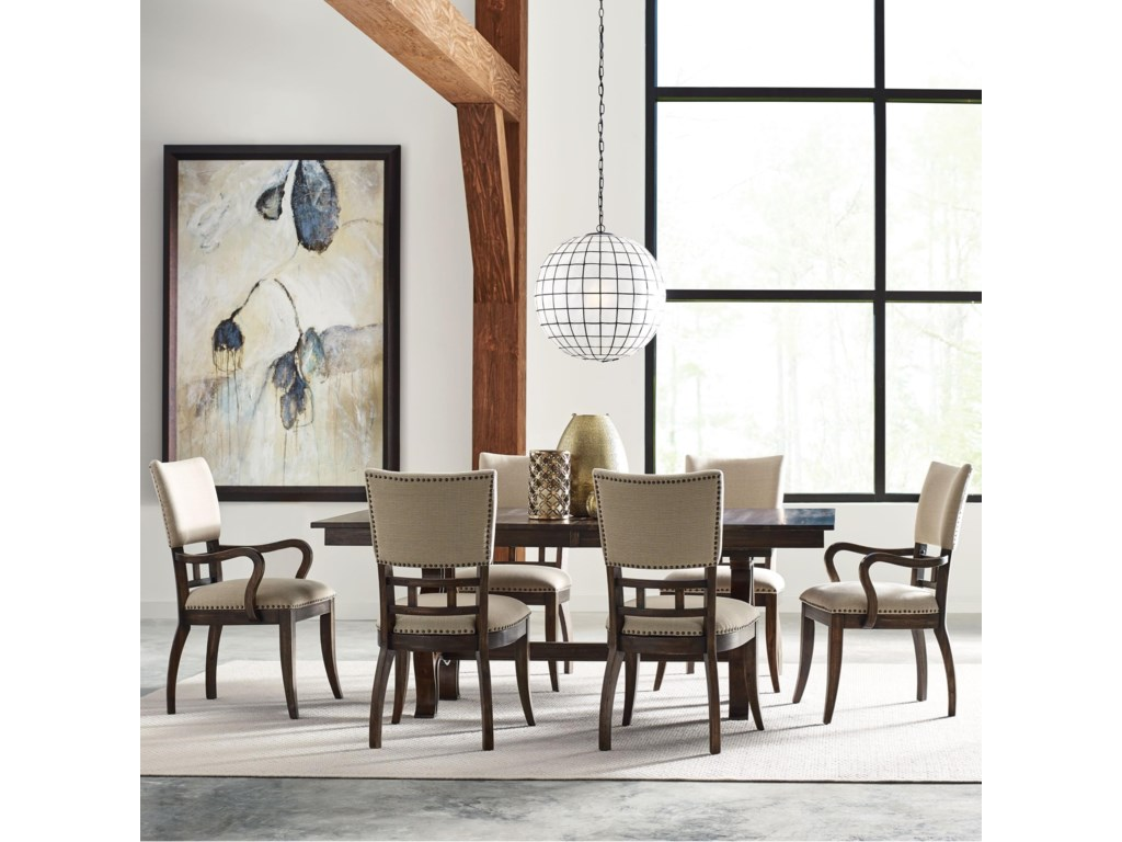Kincaid Furniture Wildfire7 Pc Dining Set