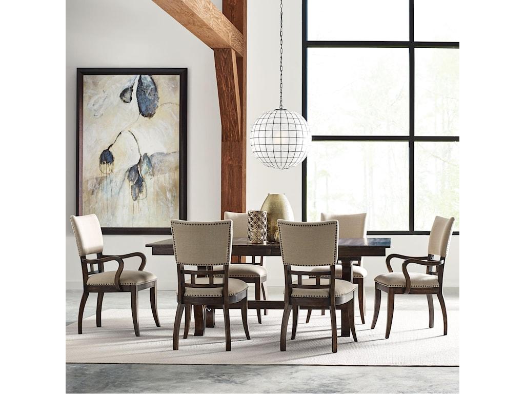 Kincaid Furniture Wildfire7 Pc Dining Set