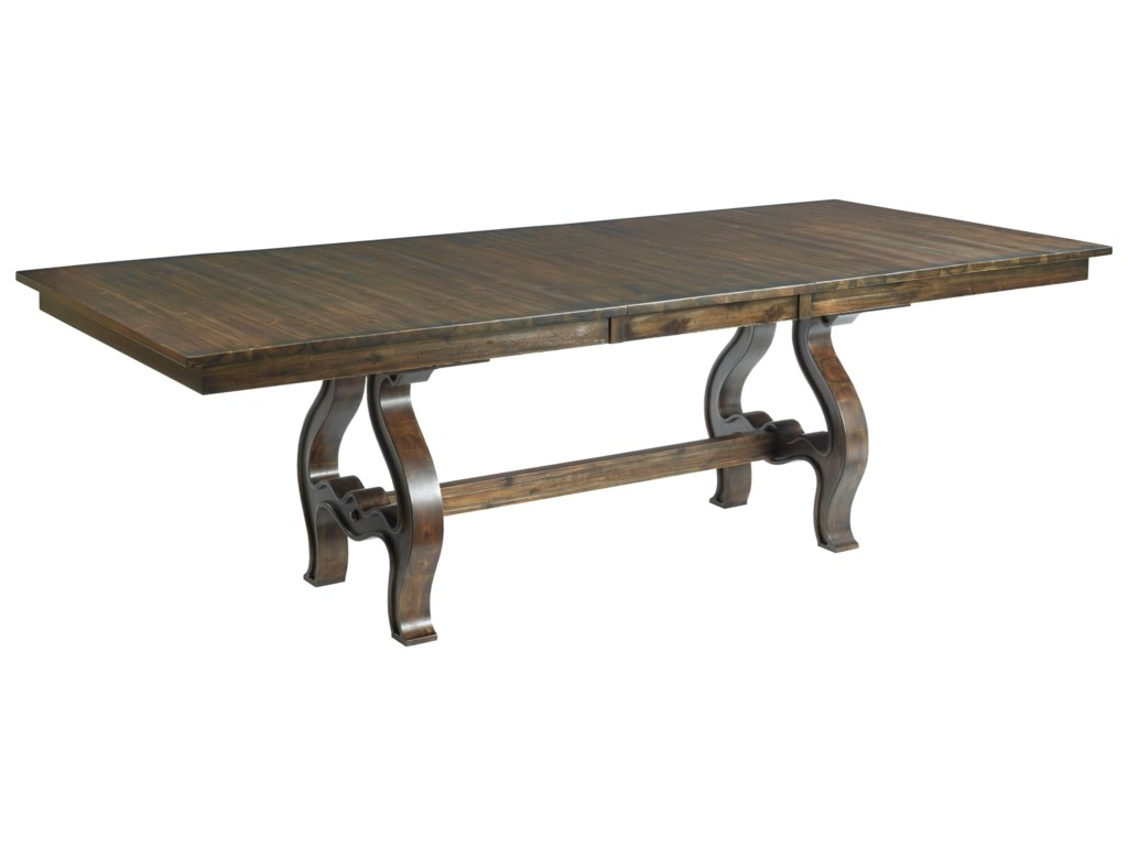 Kincaid Furniture WildfireTrestle Table Complete