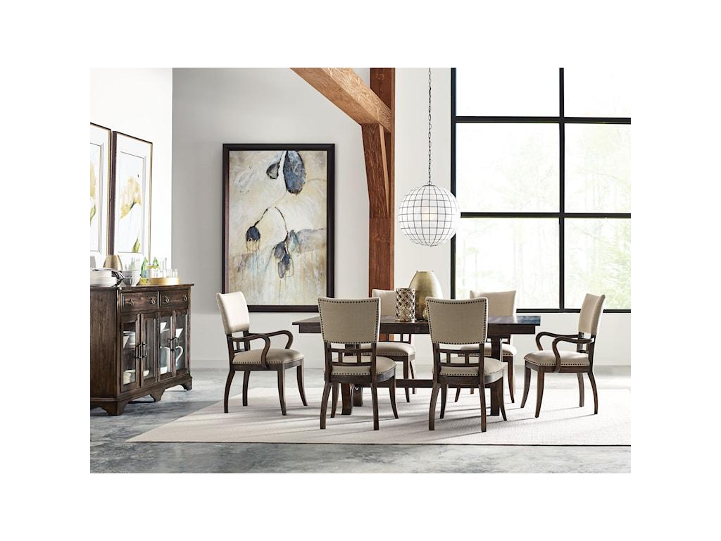 Kincaid Furniture WildfireTweed Side Chair