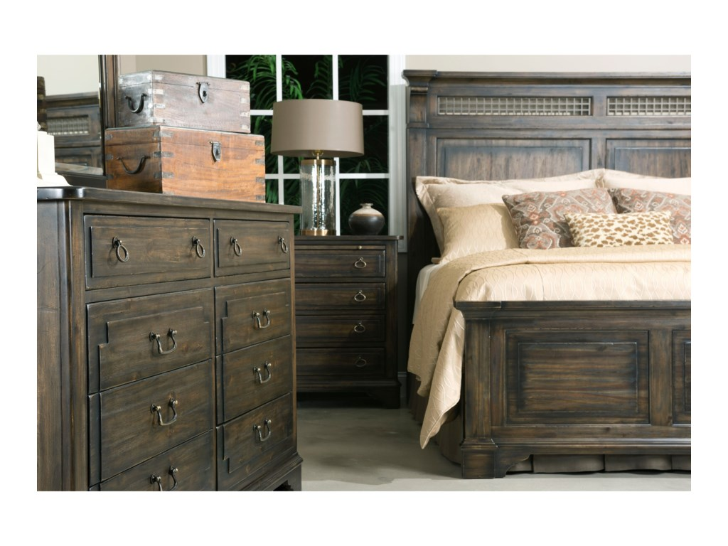 Kincaid Furniture WildfireQueen Northgate Bed
